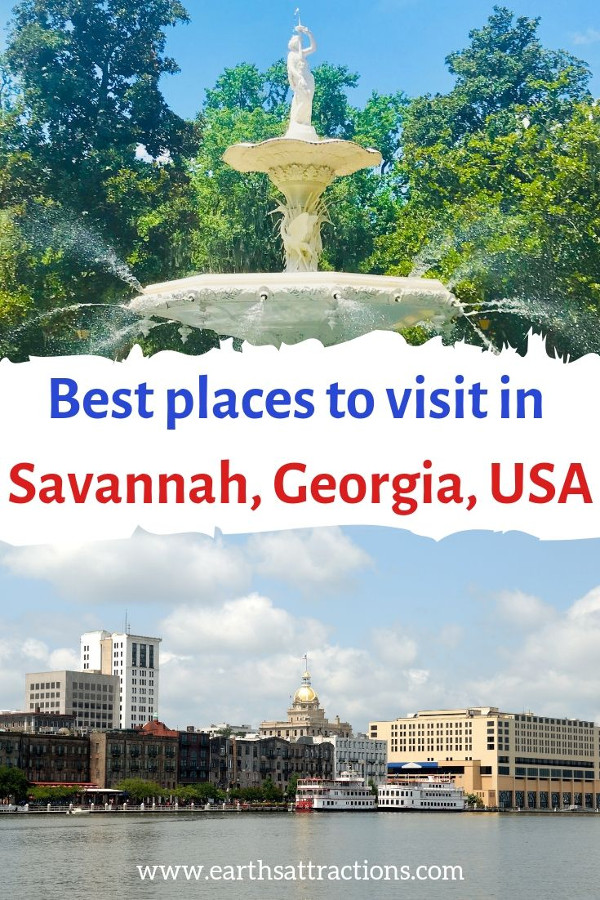 Best places to visit in Savannah GA. Use this Savannah travel guide to discover what to do on your Savannah Georgia vacation. Your Savannah bucket list! Save this pin to your boards. #savannah #georgia #usa #savannahguide