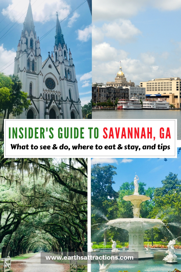 Planning a Savannah trip? Here's your insider's guide to Savannah GA with the best places to visit in Savannah Georgia, restaurants in Savannah, Savannah hotels, and Savannah tips. Save this pin to your boards. #savannah #georgia #usa #savannahguide