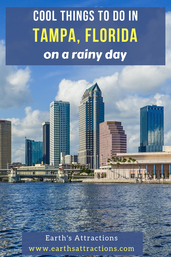 Wondering what to do in Tampa when it rains? Here are the best rainy day activities in Tampa, Florida to help you make the most of tour Tampa trip. Save this pin to your boards #tampa #usa #florida #travel