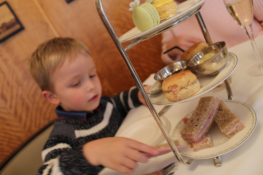 Betty's Tea-Room. Discover the best place to eat in York for me.