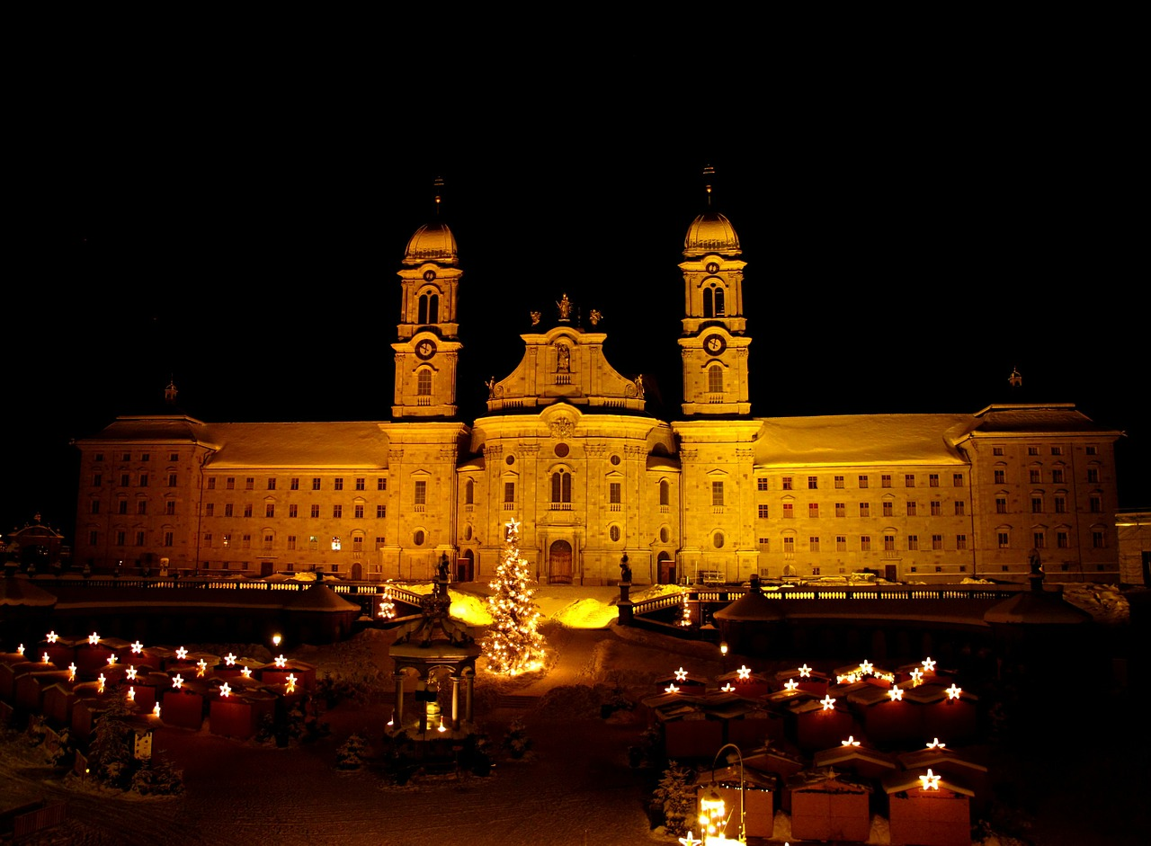 Einseideln Monastery Цюрих.