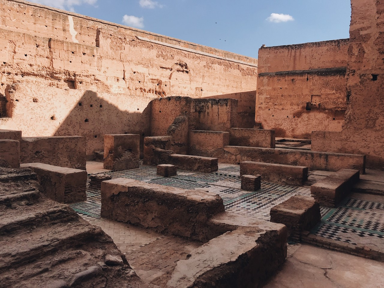 El Badi Palace, Marrakech - one of the top attractions in Marrakech