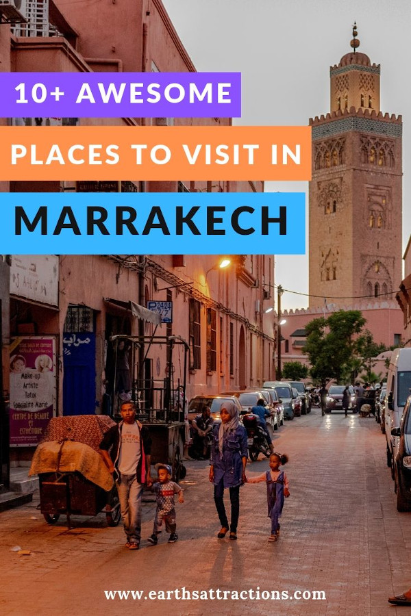 The best places to visit in Marrakech and useful Marrakech travel tips. All the Marrakech Morocco things to do are included #marrakech #marrakesh #morocco