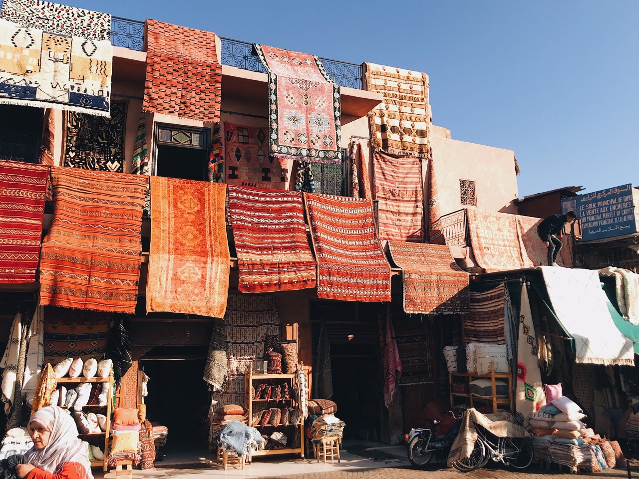 The Souks, Marrakech - discover the best places to see in Marrakech from this article