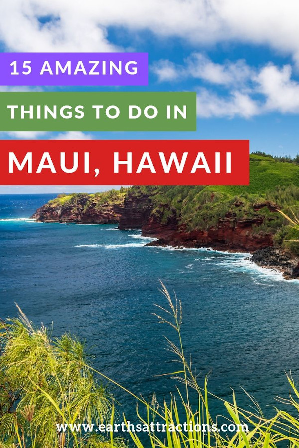 15 things to do in maui Hawaii recommended by an insider - from the Road to Hana to the banyan tree, Maui beaches, Maui hikes, and more. #maui, #hawaii #usa #travel