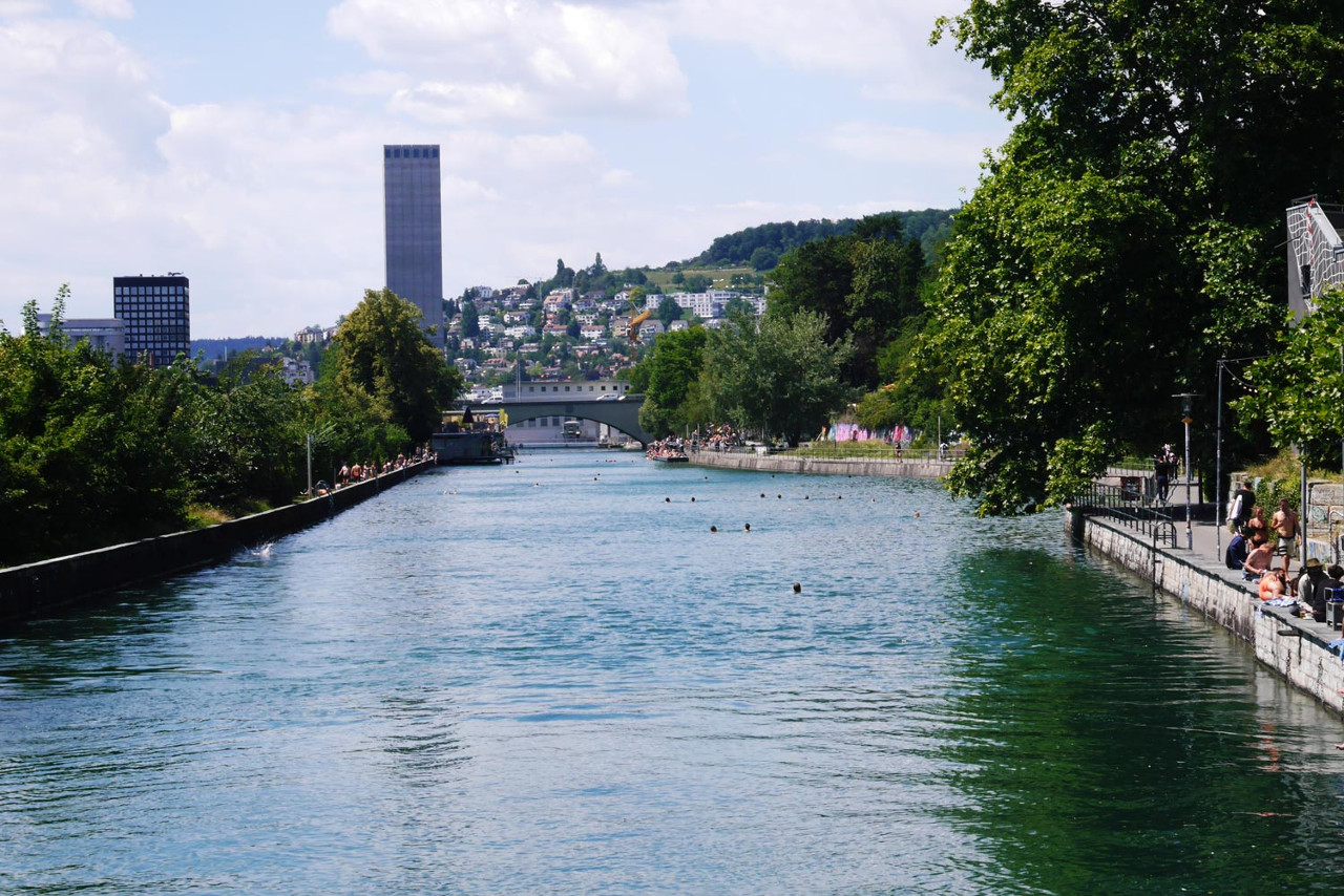 Obere Letten is one of the 30 secret spots in Zurich recommended by a local.