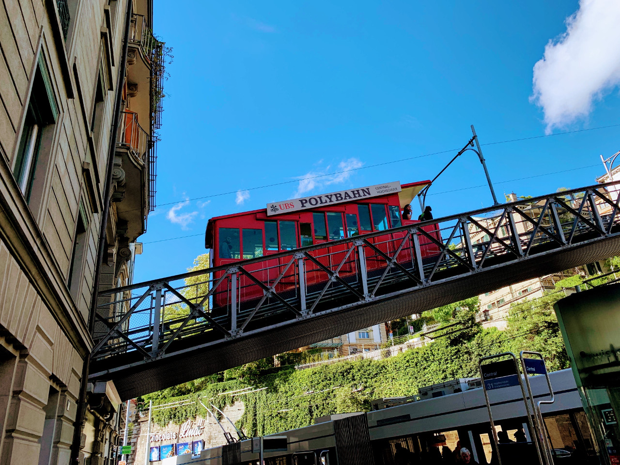 The Polybahn, Zurich. Discover the best off the beaten path things to do in and near Zurich (recommendations from a local).