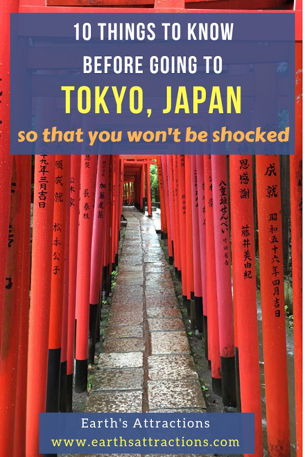 10 things to know before going to Tokyo, Japan so that you won't be shocked. #tokyo #japan #tokyofacts #asia