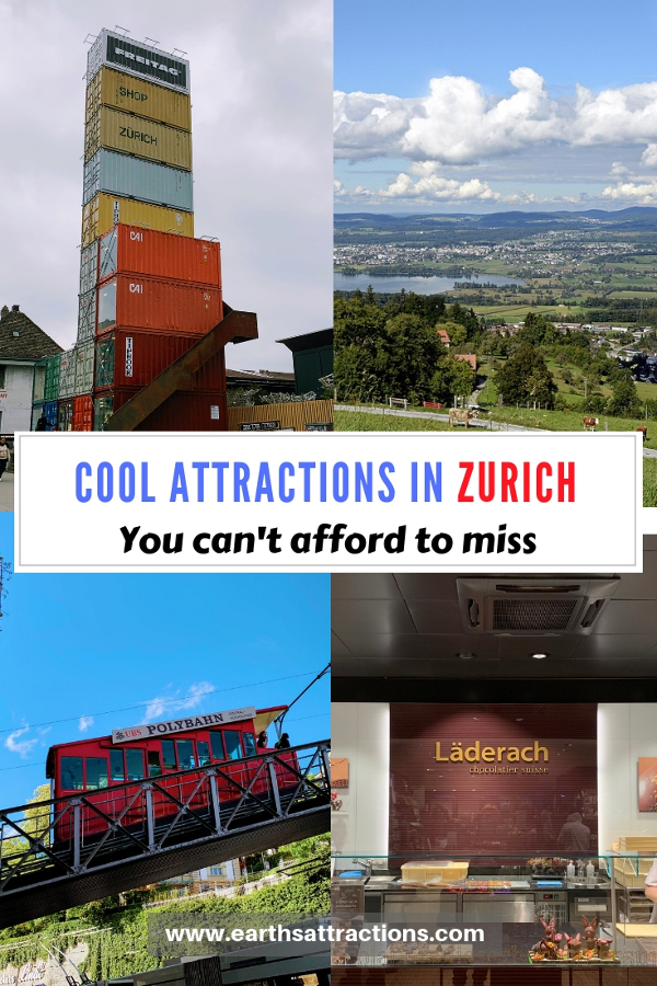 Cool attrractions in Zurich and the best Zurich day trips. Add these 30 unusual things to do in Zurich to your Zurich bucket list. #zurich #switzerland #europe #travel