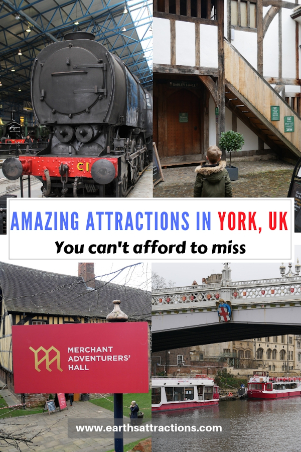 Amazing attractions in York, UK you can't afford to miss. Small town travel - create your York bucketlist from this article. #york #yorkuk #england #travel #europe #yorkshire