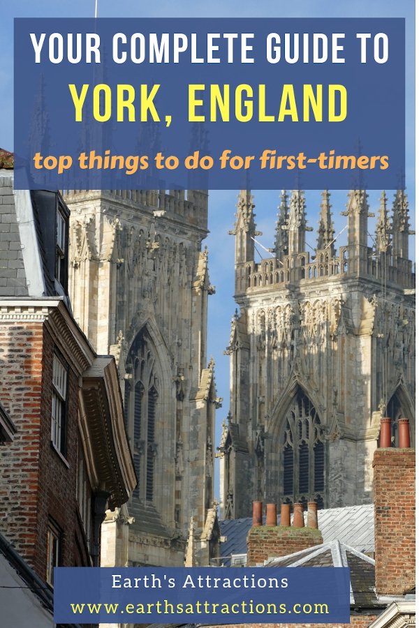 Your complete guide to York, England with the top things to do in York England for first-timers. These are the top 20 York attractions you simply have to see! Go small town travel in York! #york #yorkuk #england #travel #europe #yorkshire