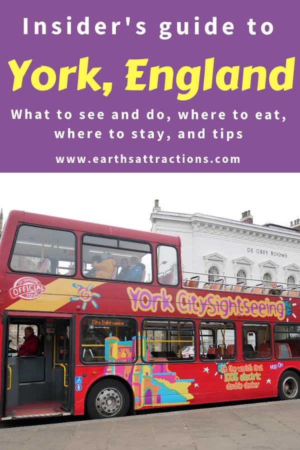 This complete York guide with the best places to visit in York, England, where to stay in York, where to eat in York, York sightseeing, and travel tips for York. Why you should go small town travel in UK. #york #yorkuk #england #travel #europe #yorkshire
