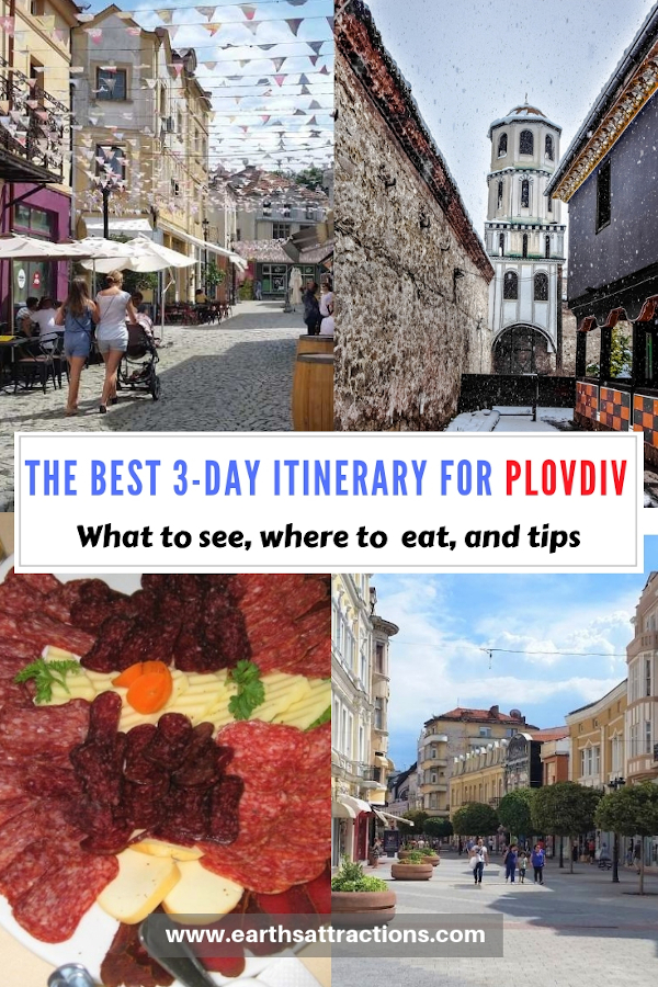 3-day itinerary for Plovdiv, Bulgaria. Discover what to do in Plovdiv. #plovdiv #bulgaria #europe #travel