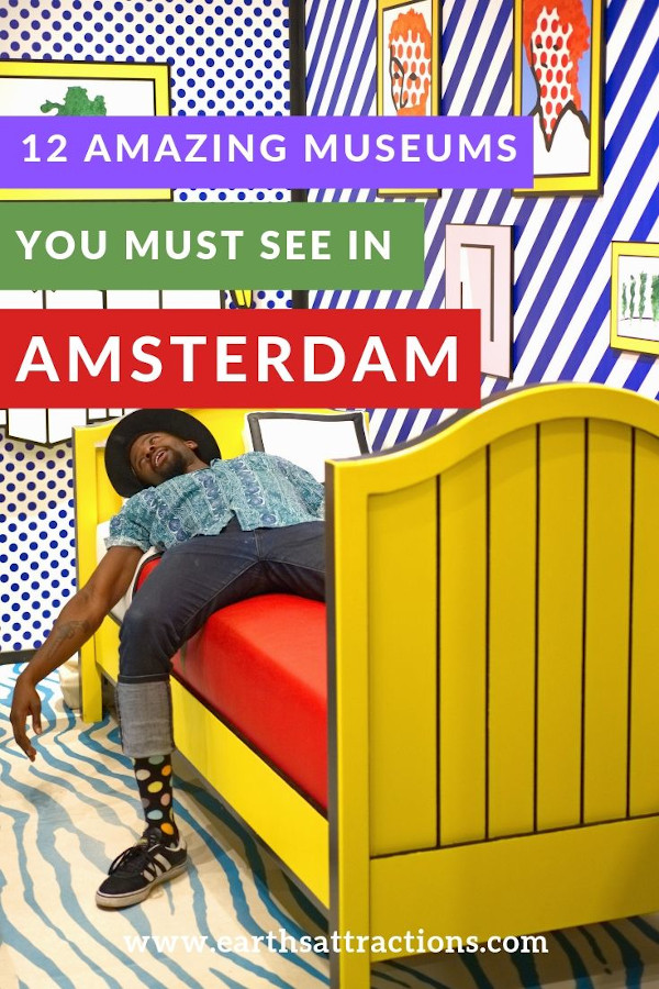 12 Amazing museums in Amsterdam you have to see: from Vincent van Gogh to Rijksmuseum, from MOCO Museum to Anne Frank, from Cheesemuseum to Bags and Purses Museum. #amsterdam #netherlands #museum #art #travel #europe