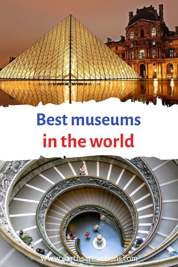 Best museums in the world - discover world's most visited museums & the best museums in the US, best museums in Europe, best museums in Asia-Pacific #museums #travel #europe #asia #australia #usa