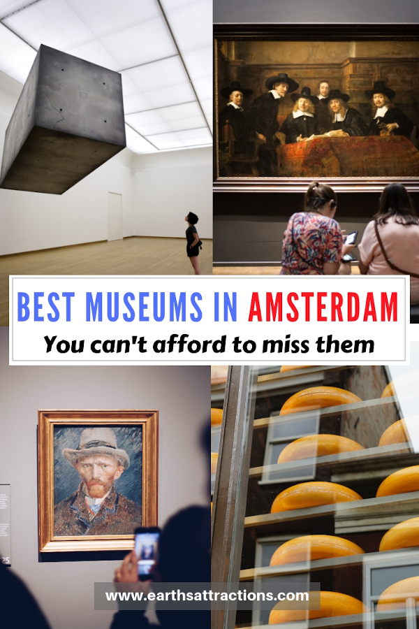 The ultimate guide to Amsterdam museums: discover the best museums in Amsterdam for all preferences #amsterdam #netherlands #museum #art #travel #europe