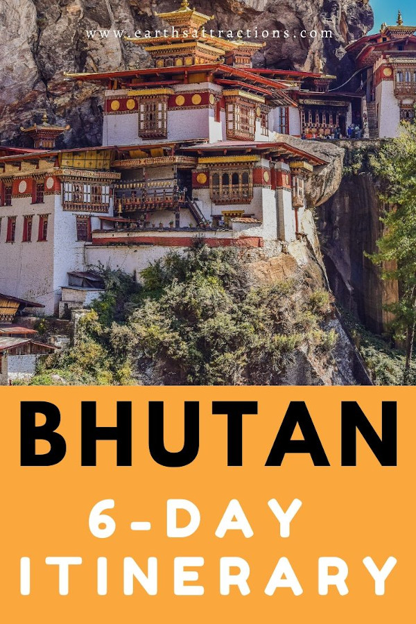 Bhutan: things to do in 6 days. Here is the perfect Buthan budget itinerary with the best things to do in Bhutan, both famous attractions in Bhutan and off the beaten path things to do in Bhutan. Find out about Bhutan souvenirs and useful travel tips for visiting Bhutan, Asia. #bhutan #bhutanguide #asia #travel #traveldestinations #asiatravel #bhutanthingstodo #travelitinerary #earthsattractions