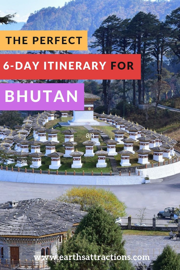 6-day Bhutan itinerary - what to do in Bhutan in 6 days #bhutan #asia #travel