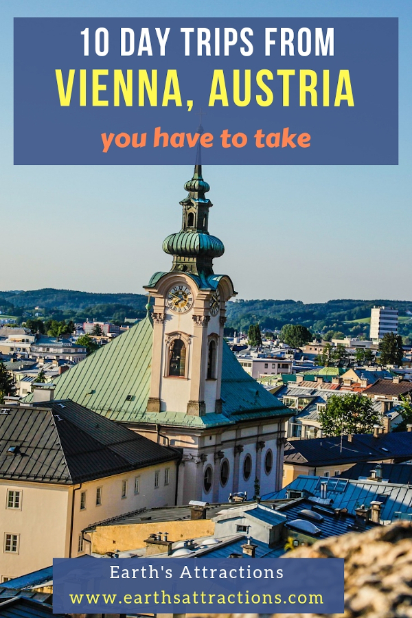 10 Day trips from Vienna, Austria you should include on your Vienna itinerary. #vienna #austria #europe #daytrips