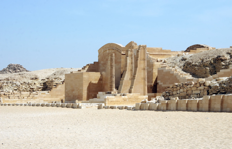Saqqara, Egypt. What to do in Egypt and tips for your Egypt trip. #egypt #travel