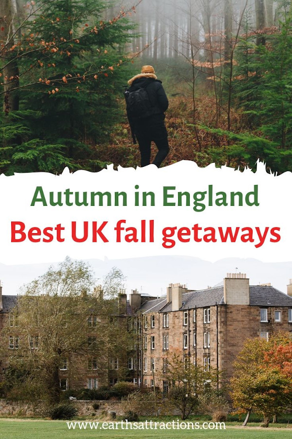 Autumn in England: best cities to visit in the UK during autumn. These are the best UK fall getaways #england #uk #autumn #fall #europe #travel