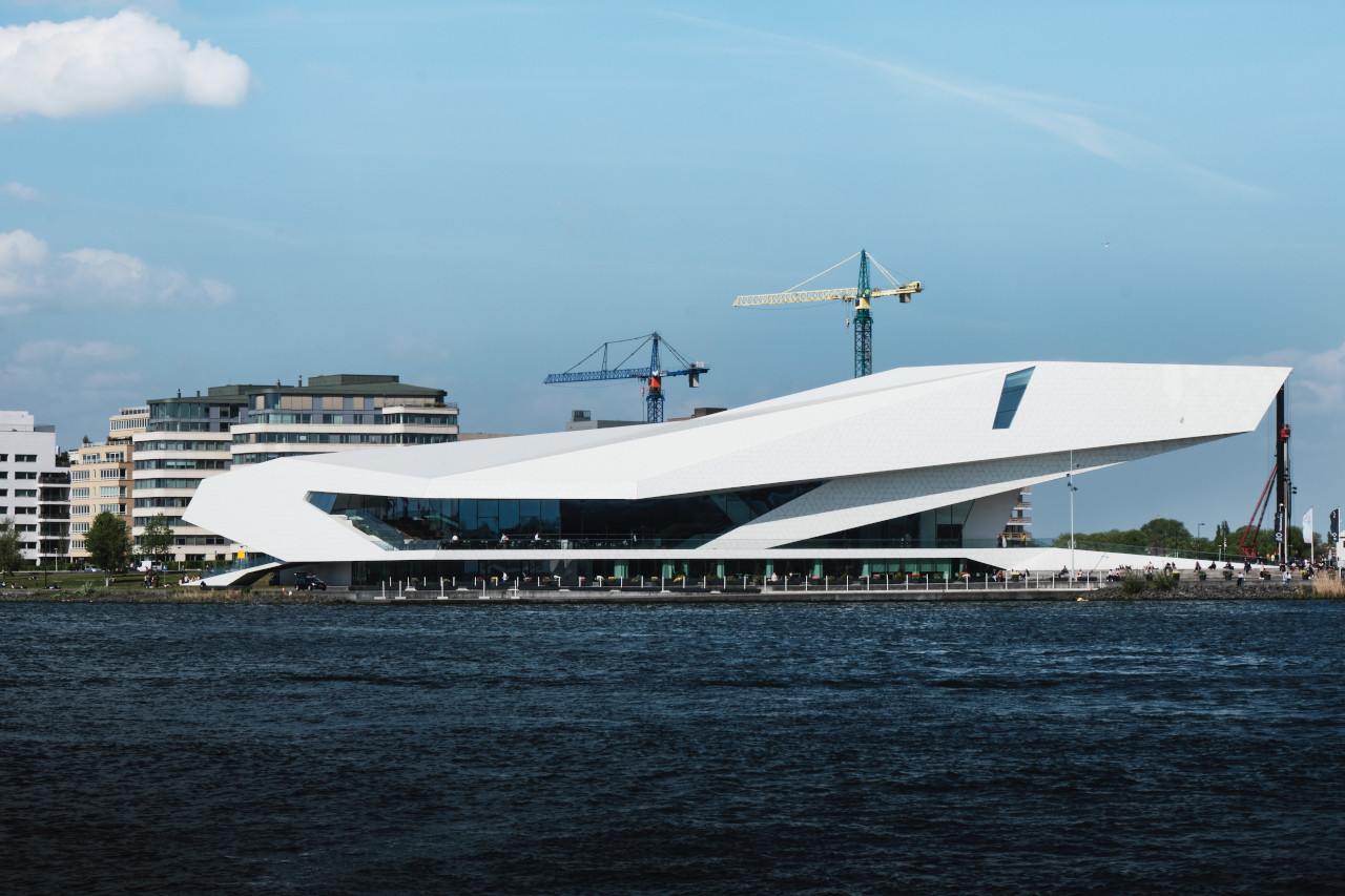 Eye Filmmuseum Amsterdam. Use this guide to museums in Amsterdam when creating your Amsterdam itinerary or your Amsterdam bucket list #amsterdam #netherlands #museum #art #travel #europe