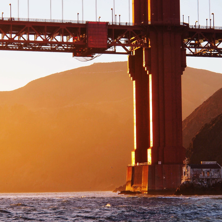 Golden Gate Bridge. Here are the top tourist attractions in San Francisco #sanfrancisco #sf #usa #travel