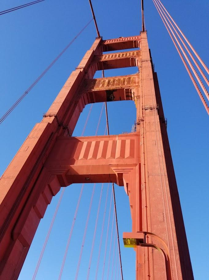 Golden Gate Bridge, San Francisco, USA. What to do in San Francisco #sanfrancisco #sf #usa #travel