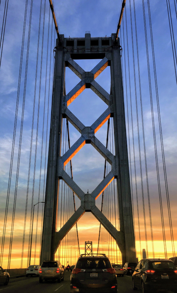 Golden Gate Bridge - twilight. Here are the top places to see in San Francisco #sanfrancisco #sf #usa #travel