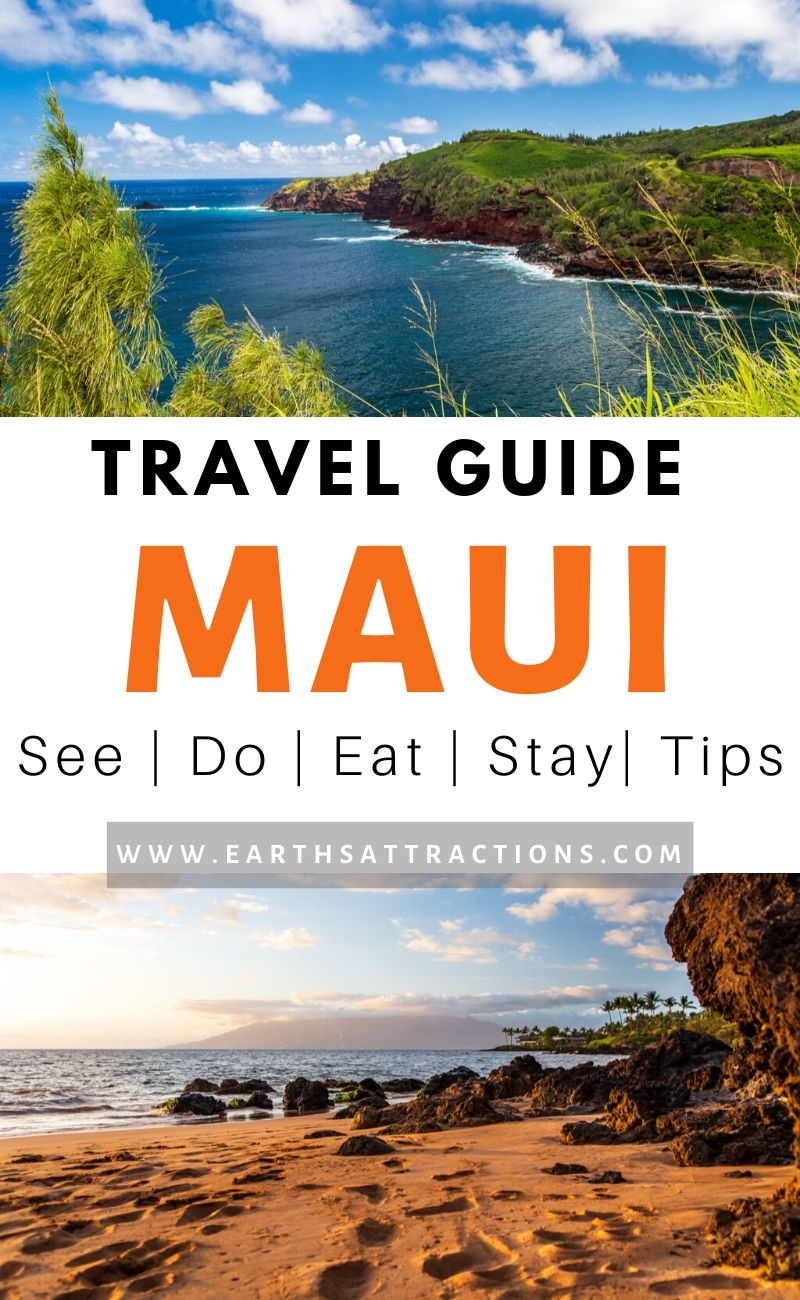 Maui travel guide! Discover the best things to do in Maui, top Maui restaurants, great Maui hotels, and useful Maui travel tips to help you plan the perfect Maui holiday. Add these things to see and do in Maui to your Maui bucketlist and have an amazing time on your Maui vacation! #maui #mauihawaii #mauithingstodo #usa #usatravel #traveldestinations #thingstodo #earthsattractions