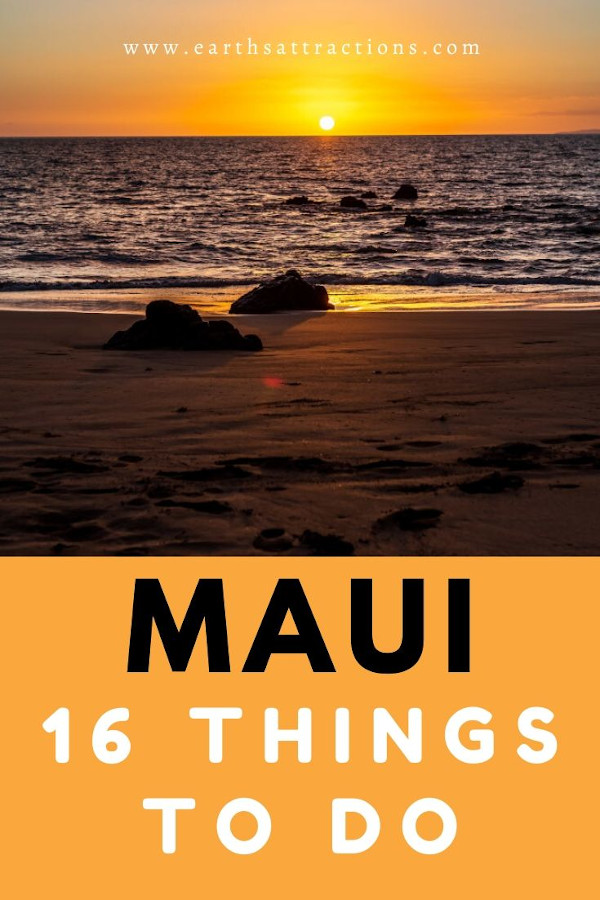 Maui: things to do! Discover the top Maui attractions as well as off the beaten path things to do in Maui, Hawaii, USA! Bonus: where to eat in Maui, where to stay in Maui and practical Maui tips! All you need to know about Maui in one place! #maui #mauihawaii #mauithingstodo #usa #usatravel #traveldestinations #thingstodo #earthsattractions
