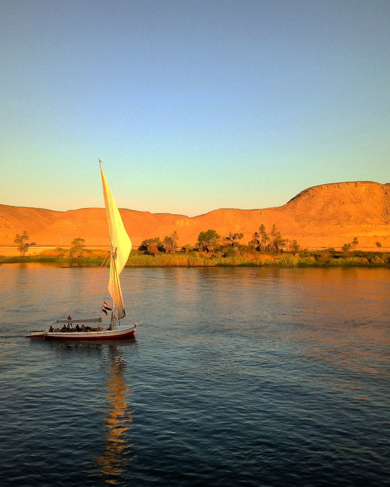 Nile River, Egypt. All you need to know before visiting Egypt for the first time #egypt #travel