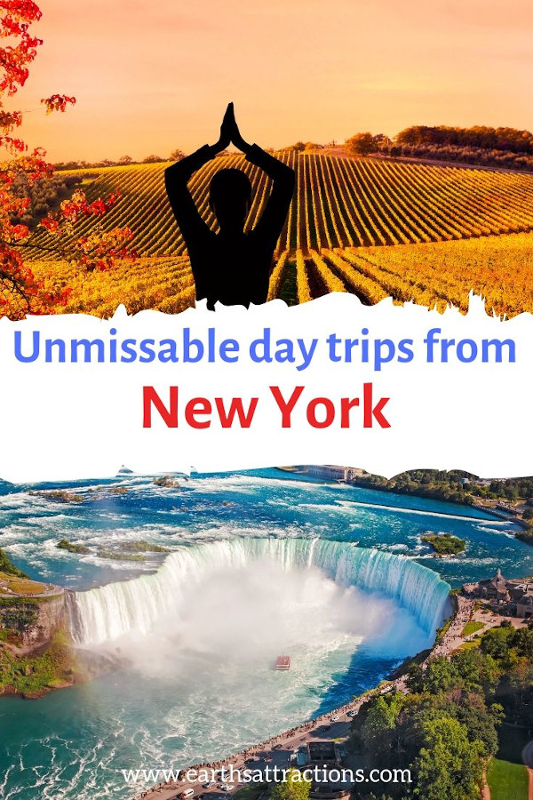 Fabulous day trips from New York City you cannot miss! The best places to visit near NYC. #nyc #daytrip #usa #travel