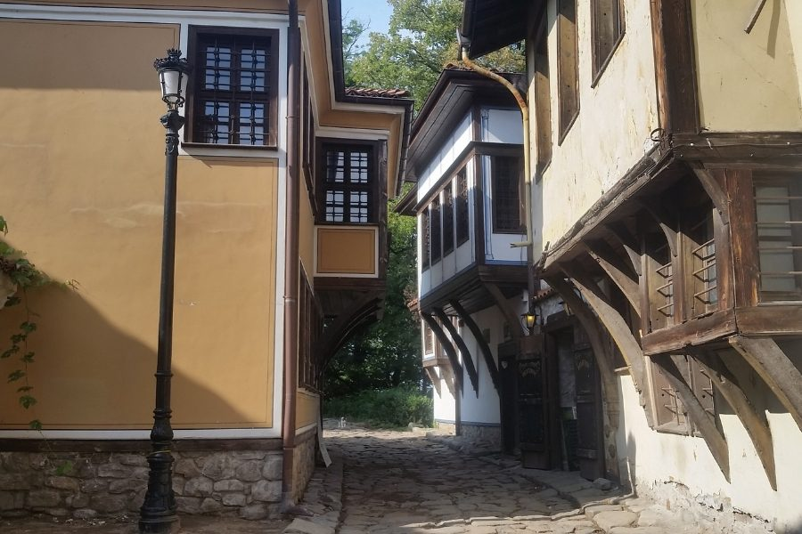 Street in Old Town Plovdiv. What do do in Plovdiv - the pefect 3 days in Plovdiv itinerary. #plovdiv #bulgaria #europe #travel