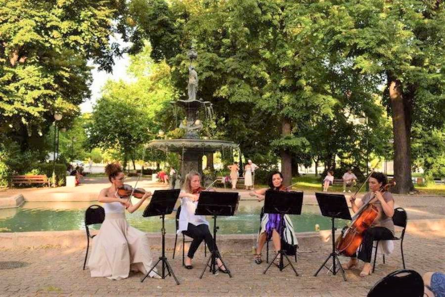 Plovdiv, concert in the park. What to do in Plovdiv in three days - your Plovdiv bucket list #plovdiv #bulgaria #europe #travel