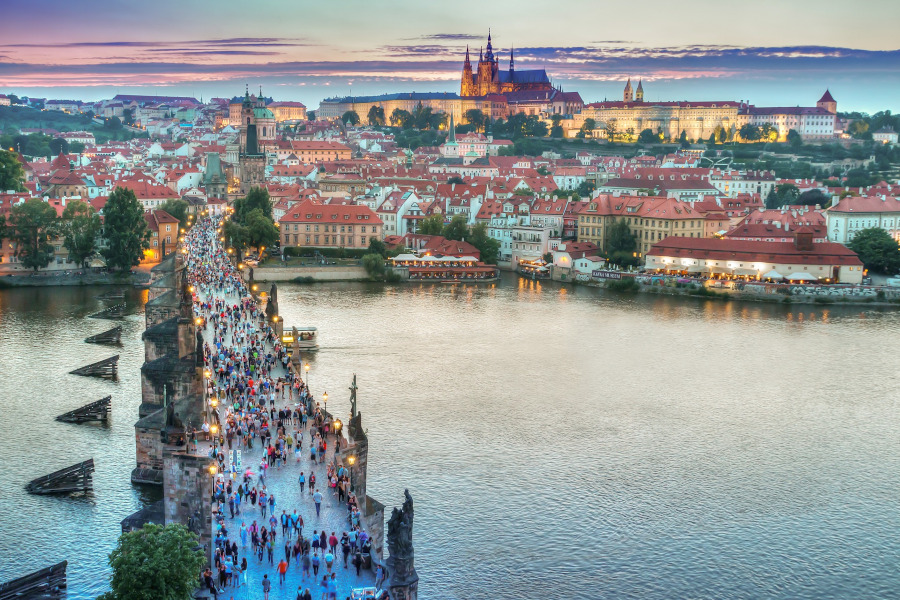 Prague, one of the best day trips from Vienna