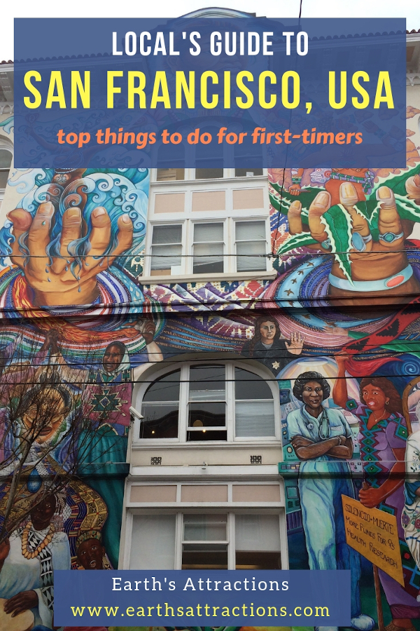 Local's guide to San Francisco with the top things to do for first timers. Use this guide to create your San Francisco itinerary or as your San Francisco bucket list. #sanfrancisco #sf #usa #travel