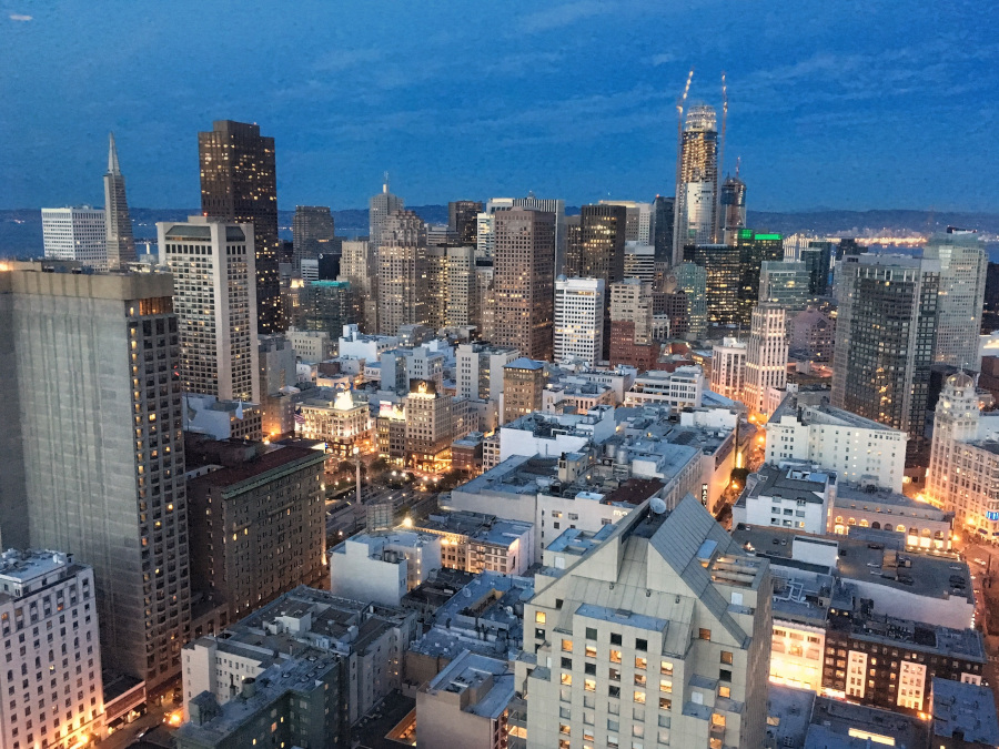San Francisco at night. The best tips for San Francisco from a local + the best things to do in San Francisco #sanfrancisco #sf #usa #travel