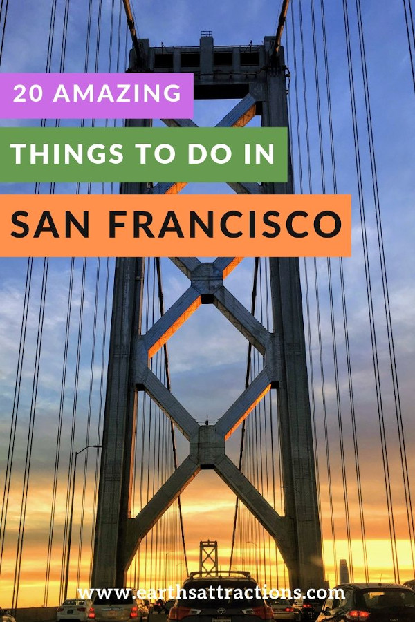 20+ Amazing things to do in San Francisco, USA. #sanfrancisco #sf #usa #travel