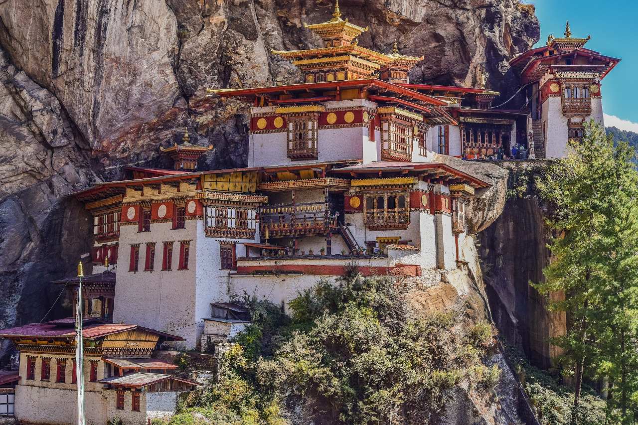 Tiger's Nest Monastery, Bhutan. Things to know before visiting Bhutan and a 6-day Bhutan itinerary #bhutan #asia #travel