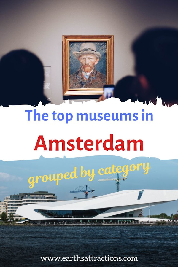 The top museums in Amsterdam grouped by category. The insider's guide to Amsterdam museums. #amsterdam #netherlands #museum #art #travel #europe
