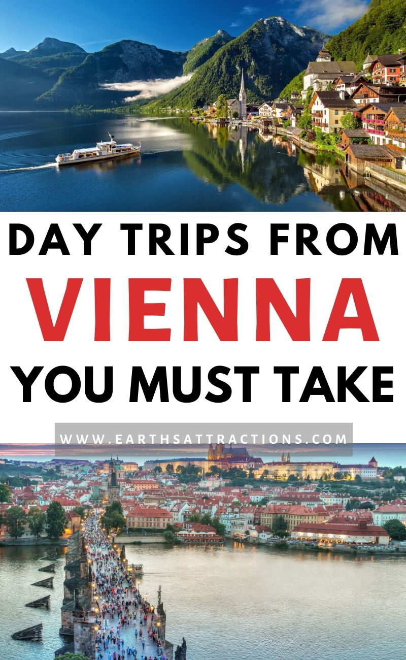 Day trips from Vienna you can't afford to miss! Discover incredible places to visit near Vienna. The best places to visit near Vienna in amazing Vienna day trips are included in this article! #vienna #austria #travel #europe #traveltips #earthsattractions