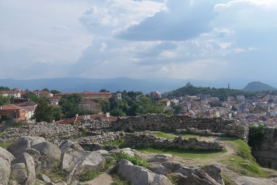 View of Plovdiv from Nebet Tepe. Discover the best things to do in Plovdiv from this article. #plovdiv #bulgaria #europe #travel