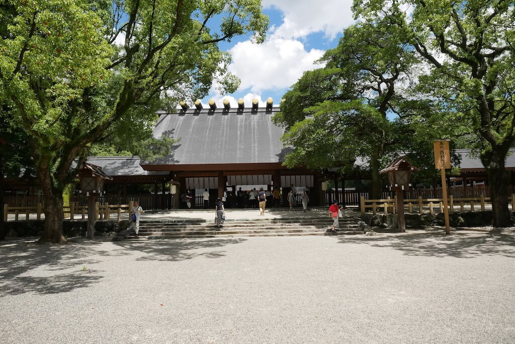 Atsuta Jingu Main Shrine, Nagoya, Japan. Discover the top tourist attractions in Nagoya, Japan from this article.