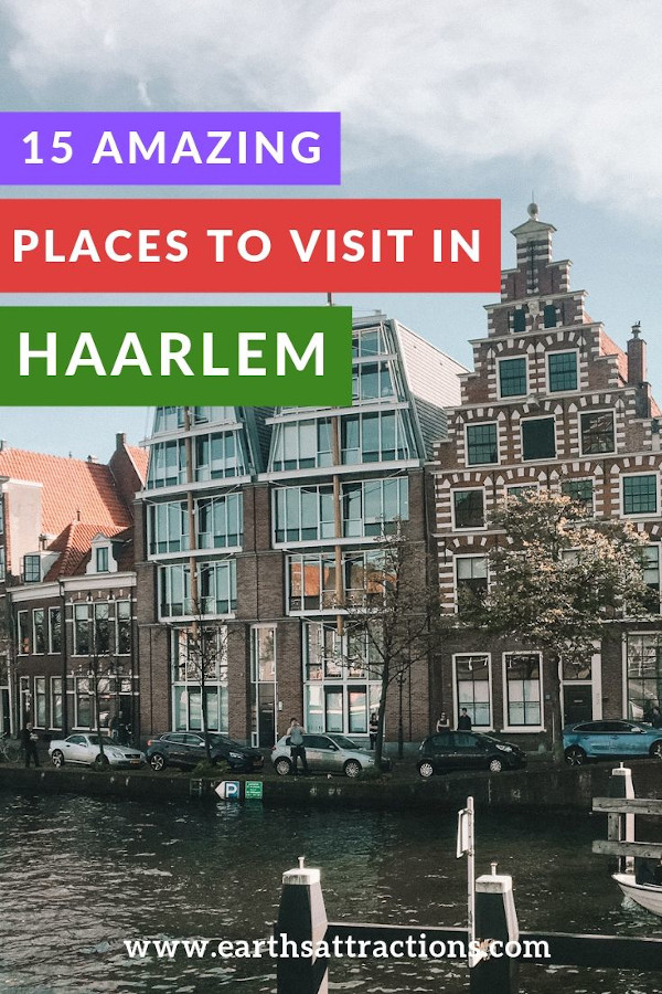 15 amazing places to visit in Haarlem, the Netherlands, near Amsterdam. Insider's guide to Haarlem! #haarlem #netherlands #europe #travel #travelguides