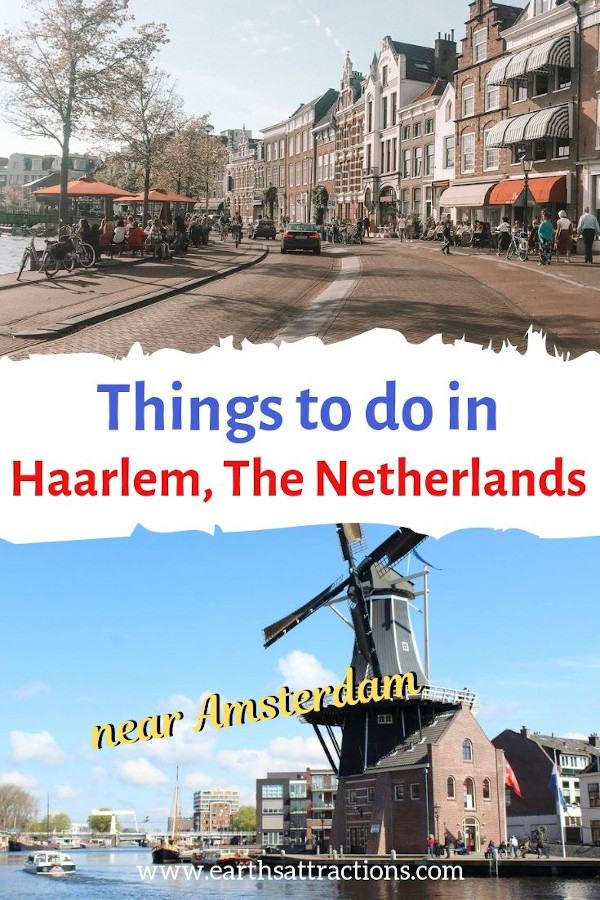 The best things to do in Haarlem, The Netherlands - the perfect 1-day trip from Amsterdam. Use this Haarlem guide when planning your trip. #haarlem #netherlands #europe #travel #travelguides