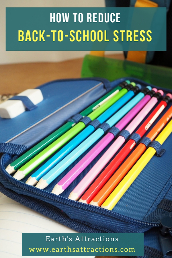How to reduce back-to-school stress #backtoschool