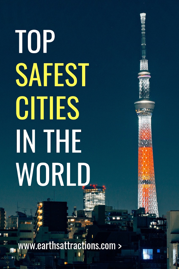 The Safest cities in the world to visit right now. #safety #travel #safecities