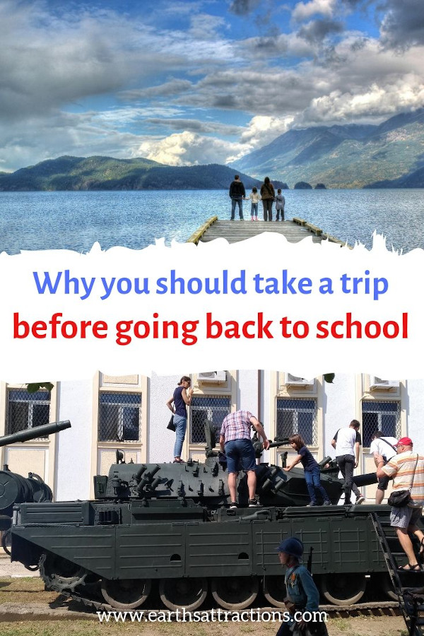 Why you should take a trip before going back to school #backtoschool #travel