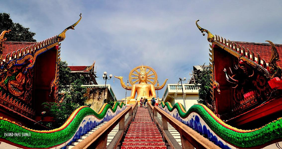 Самуи, Таиланд - Большой Будда.  Прохладные места для посещения в Таиланде, Азии и что нужно знать перед поездкой в Таиланд.  #thailand #asia #travel Путешествие в Таиланд Путешествие в Таиланд: что стоит знать и лучшие места в Таиланде thailand koh samui